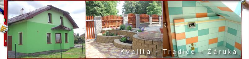 Zednictví - kvalita - tradice - záruka